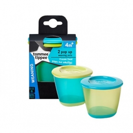 POP UP WEANING POT (PACK OF 2)