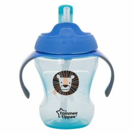 TRAINER STRAW CUP BLUE
